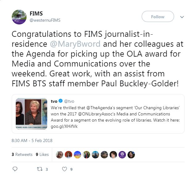 FIMS tweet screen capture