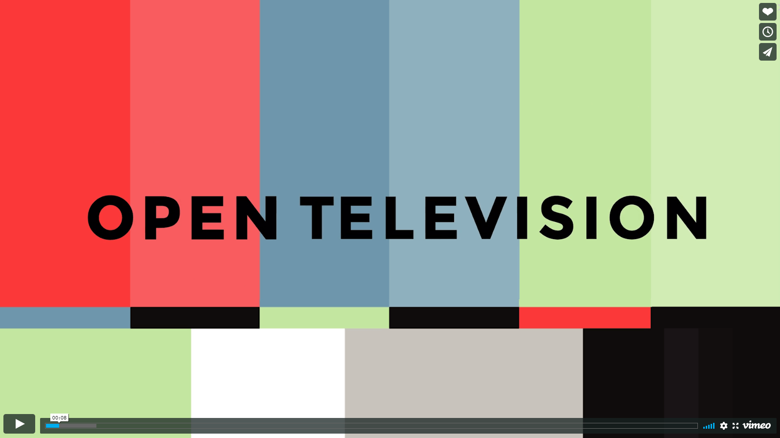 Open Television on Vimeo