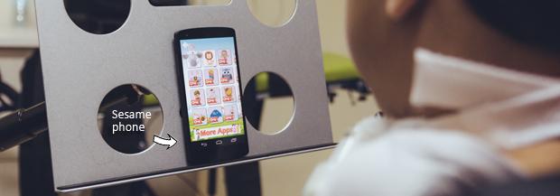 Sesame smartphone per disabili