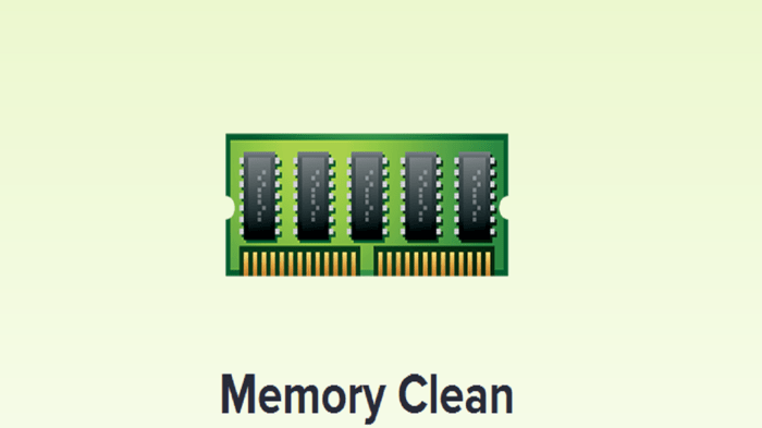 Memory Clean Apple Store