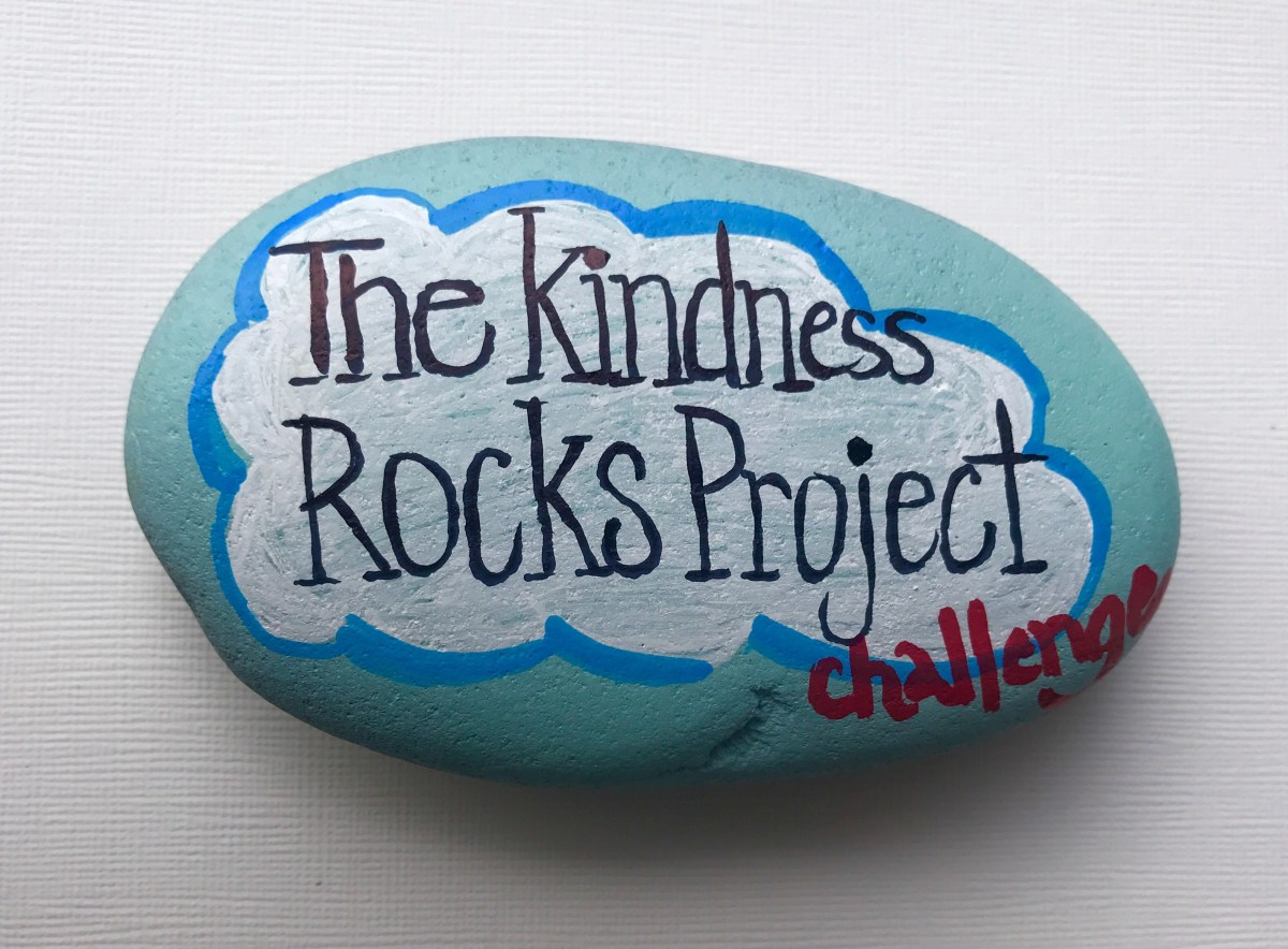 POWER OF CONNECTING WITH KINDNESS ROCKS Makes Me Wander