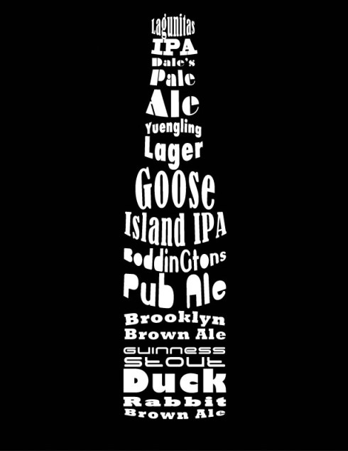 Beer-Typography