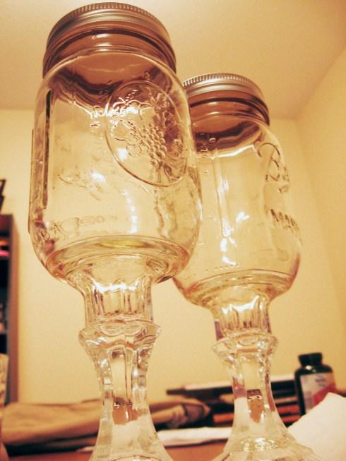 DIY Redneck Wine Glasses | Make Something Mondays