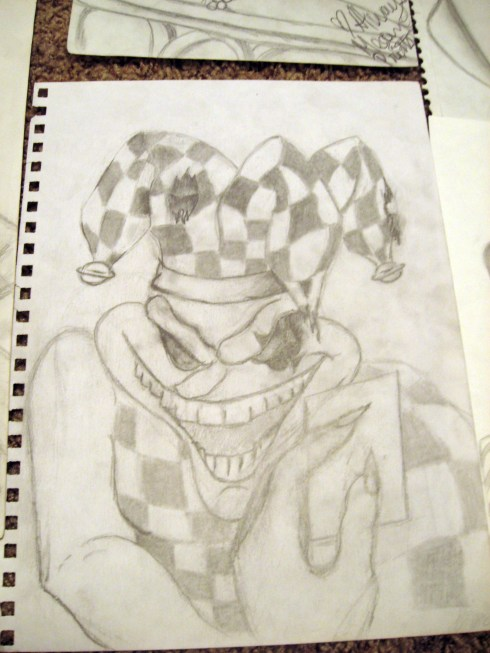 clown-joker-sketch