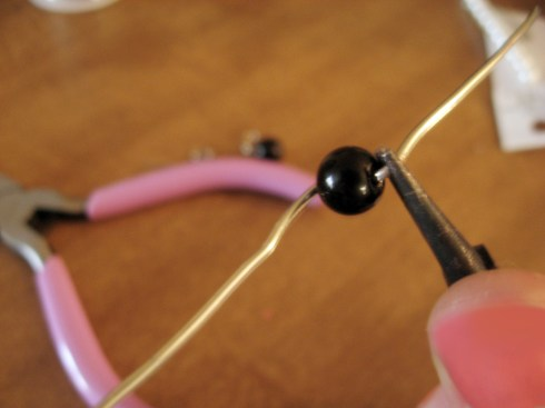 Learn how to make wire-wrapped earrings