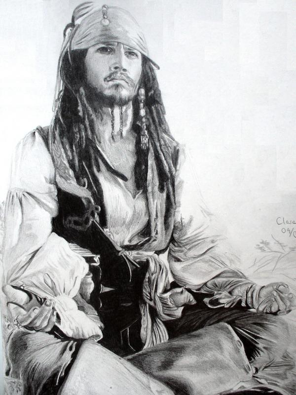 Jack Sparrow from Pirates of the Carribean
