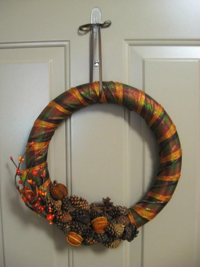 DIY Fall-Inspired Wreath