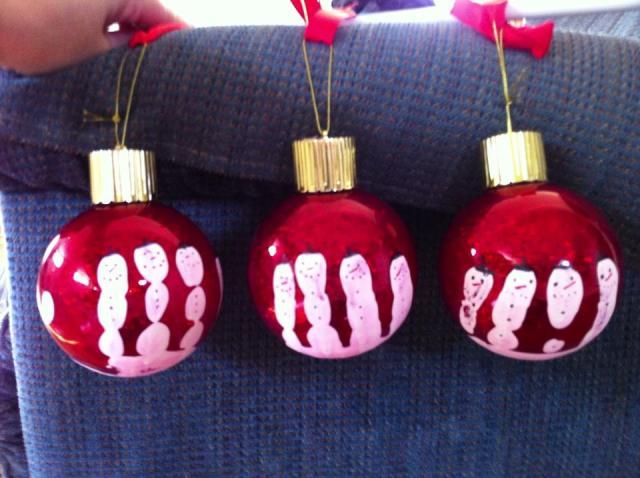 snowman ornaments