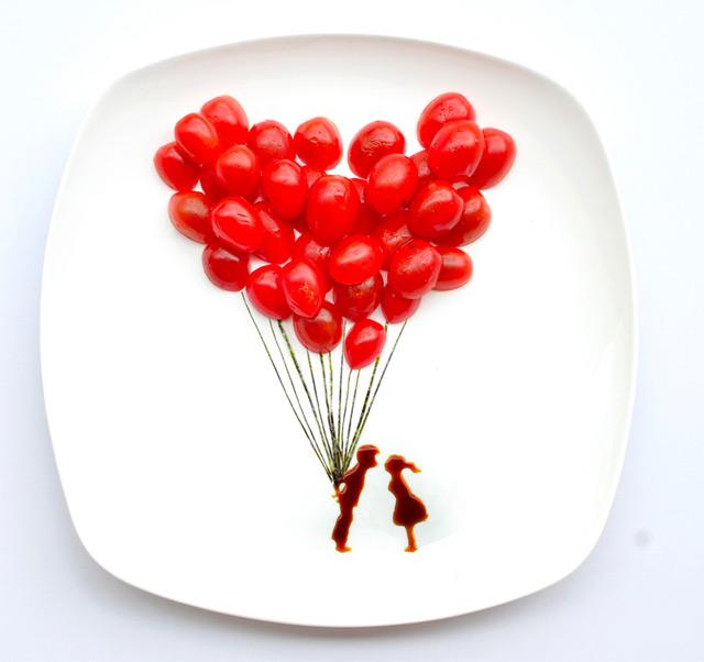 tomato balloons