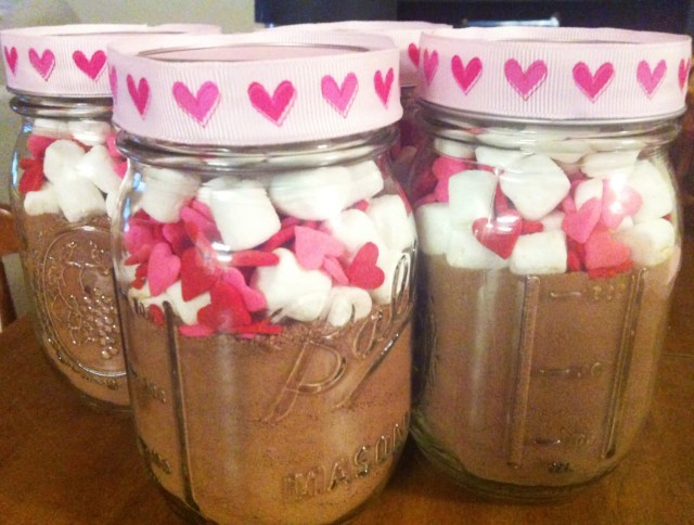 valentines day mason jar craft