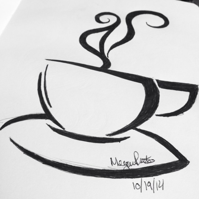 Morning coffee inspiration for #inktober