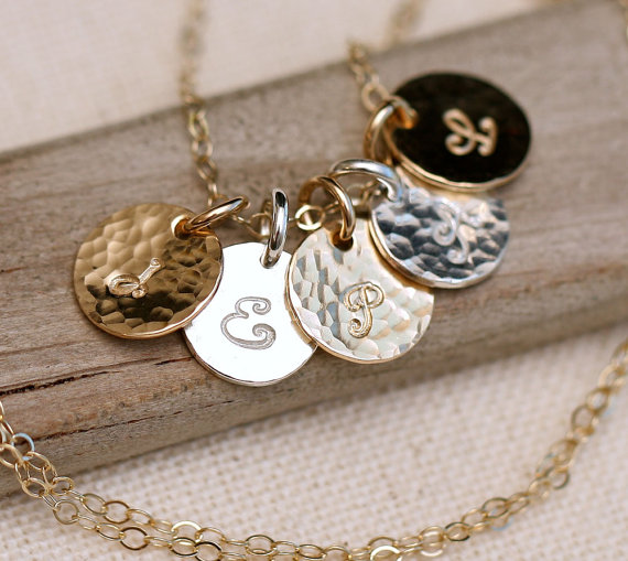 initial necklace- $28.00