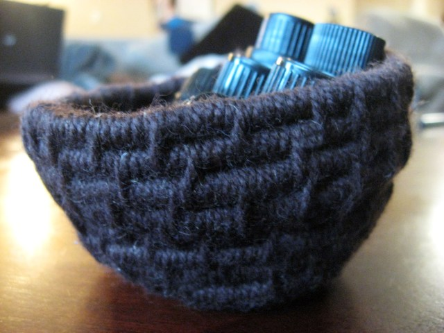 yarn basket side view