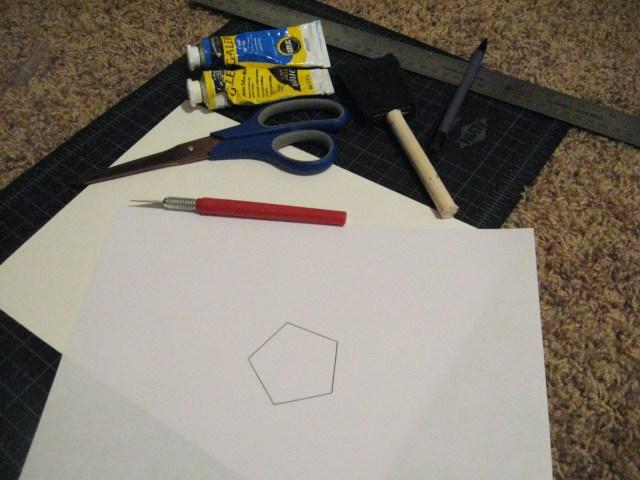 geometric pen holder materials