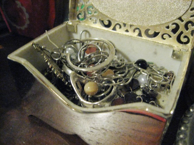 old earring box