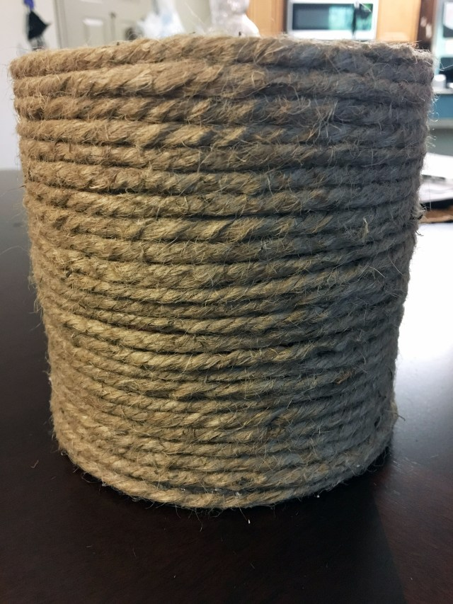 rope coiled organizer