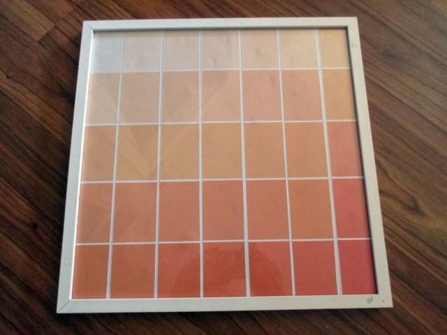 "12x12"" framed calendar"