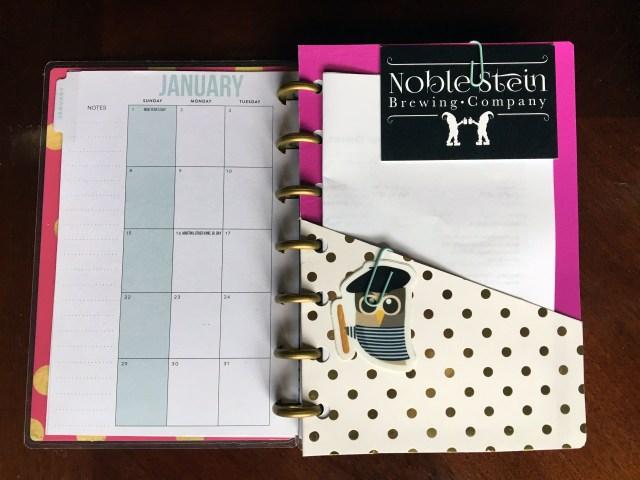 DIY Happy Planner Folder Insert