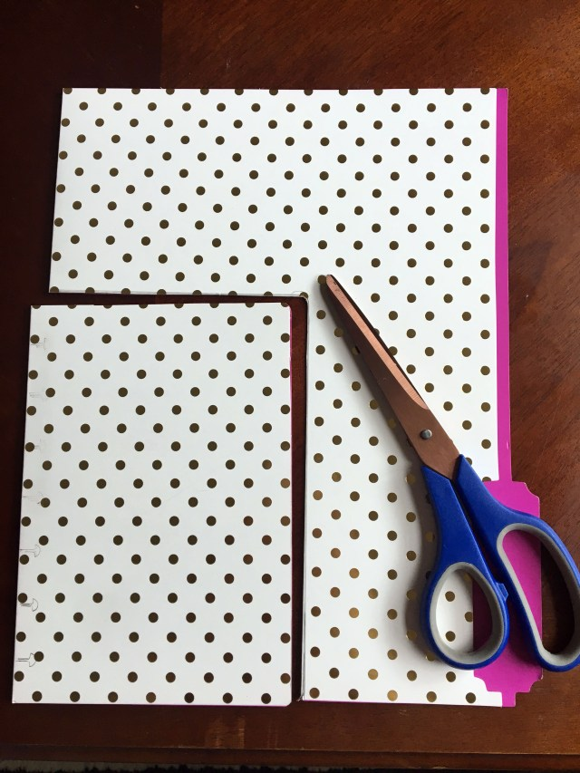 cut the folder