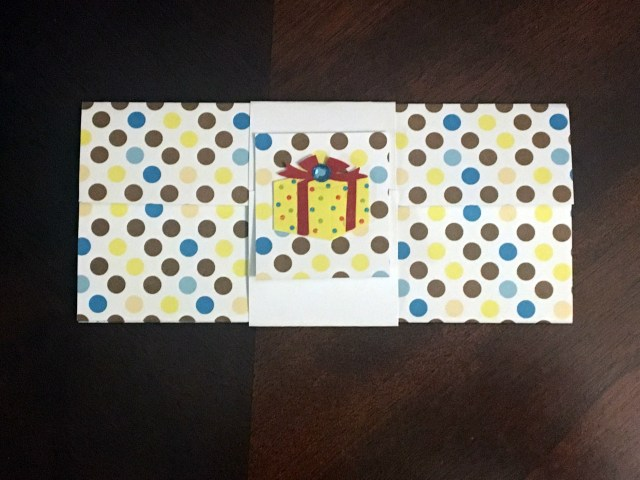 paper gift card holder