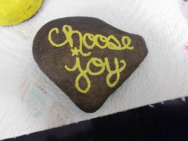 choose joy rock