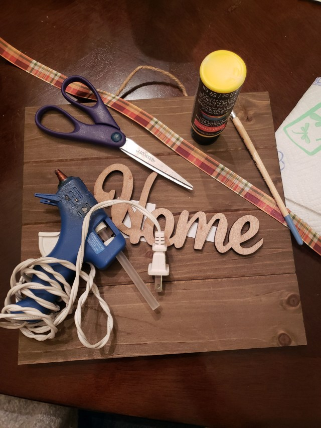 farmhouse home sign supplies