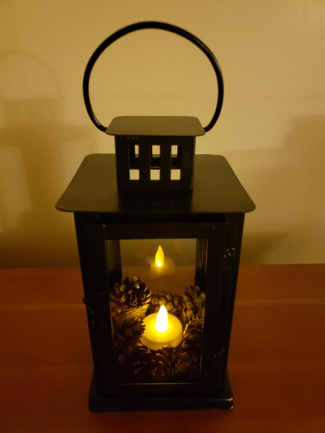 Goodwill lantern upcycle