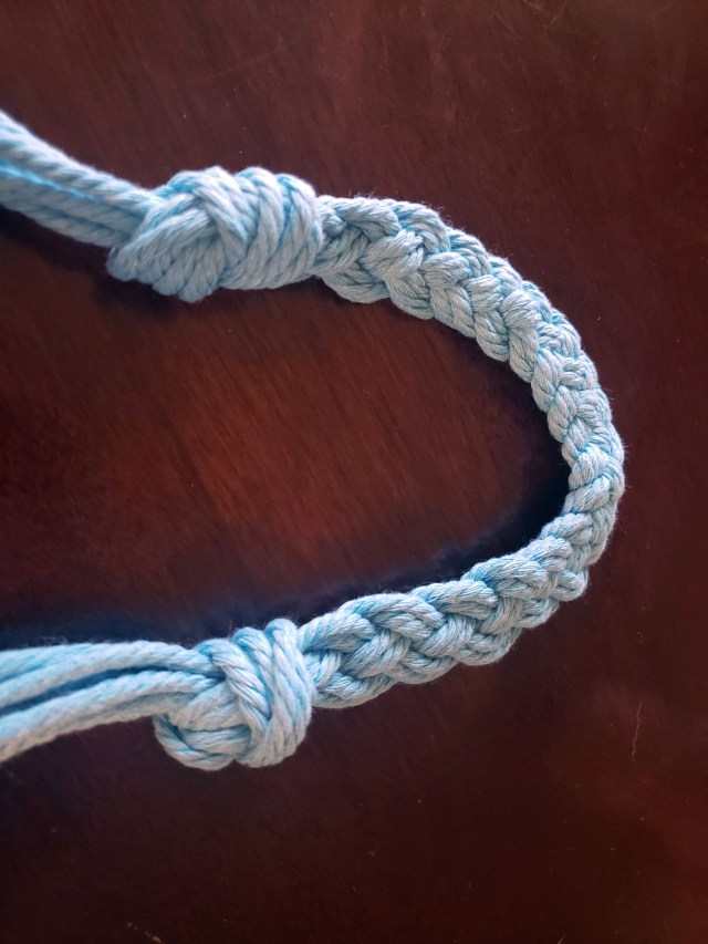 macrame braided handle