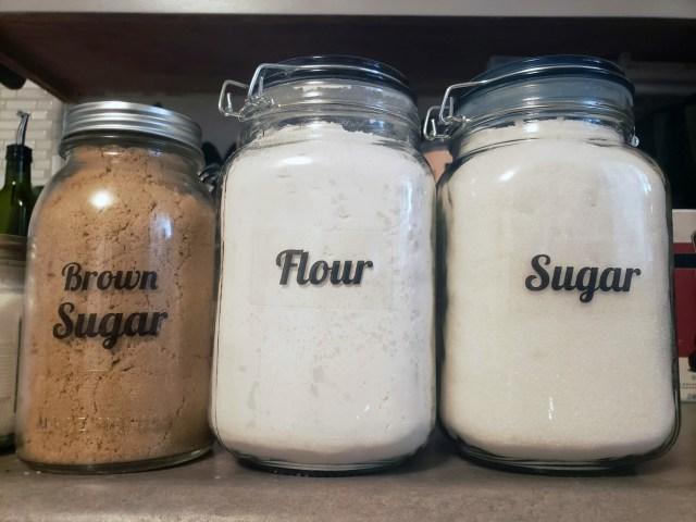 diy organizational kitchen labels