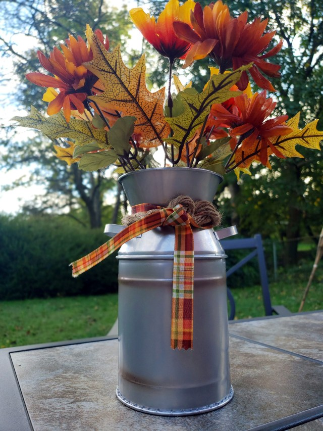 diy fall floral centerpiece