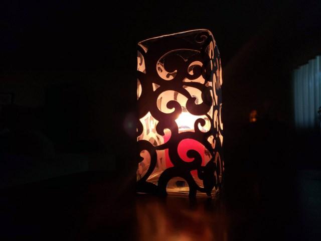 glass luminary