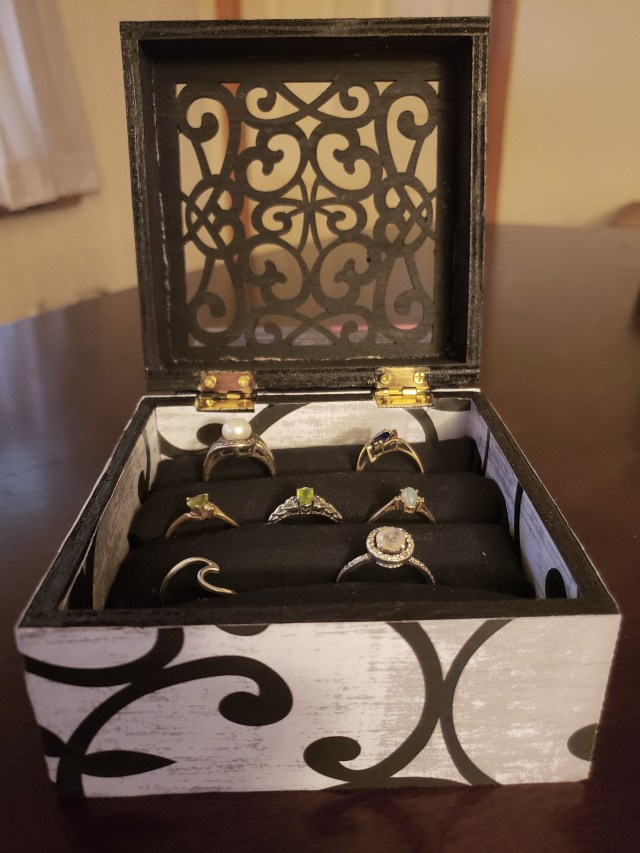 ring box diy gift idea