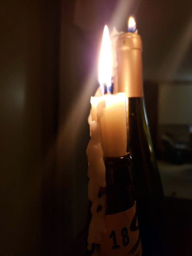 candlestick wax dripping