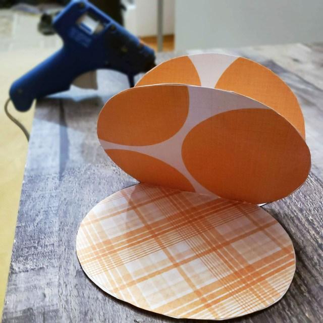 scrapbook paper pumpkin patterns