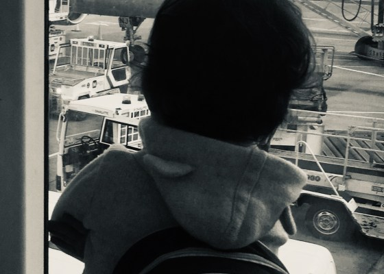 Baby S, aeroplane lover. When the world stops spinning