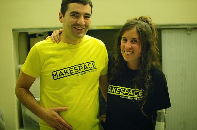 Camisetas Makespace Madrid