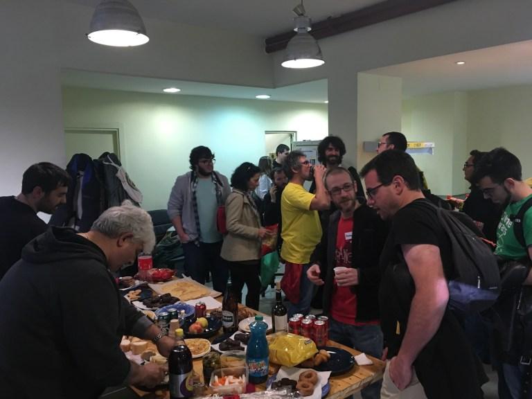 Fiesta celebración quinto aniversario de Makespace Madrid