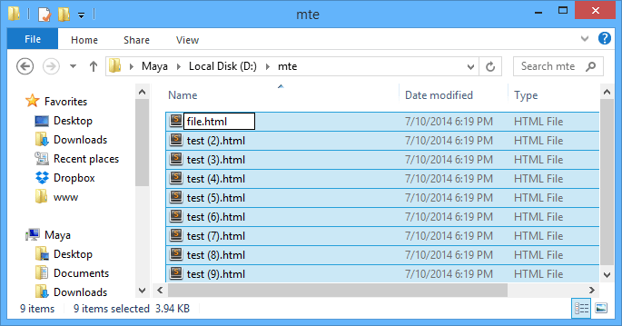 3 Ways To Batch Rename Files In Windows