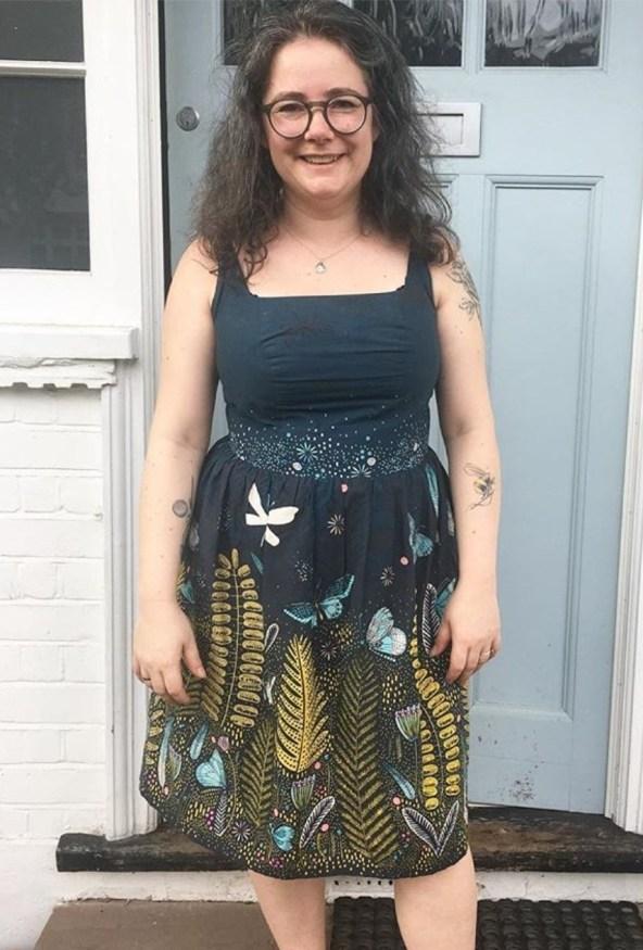 charlotte newland kim dress