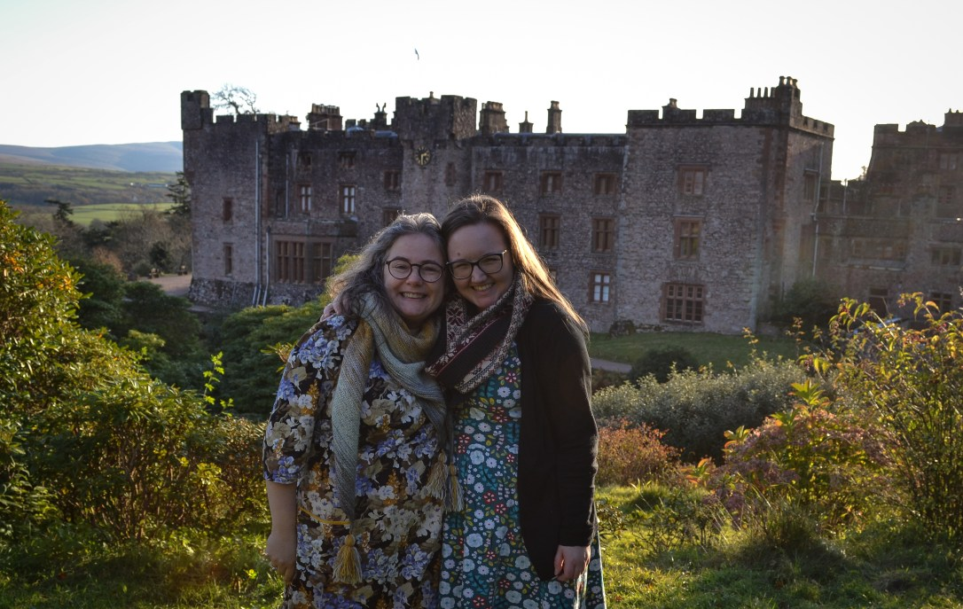 kym and charlotte castle view