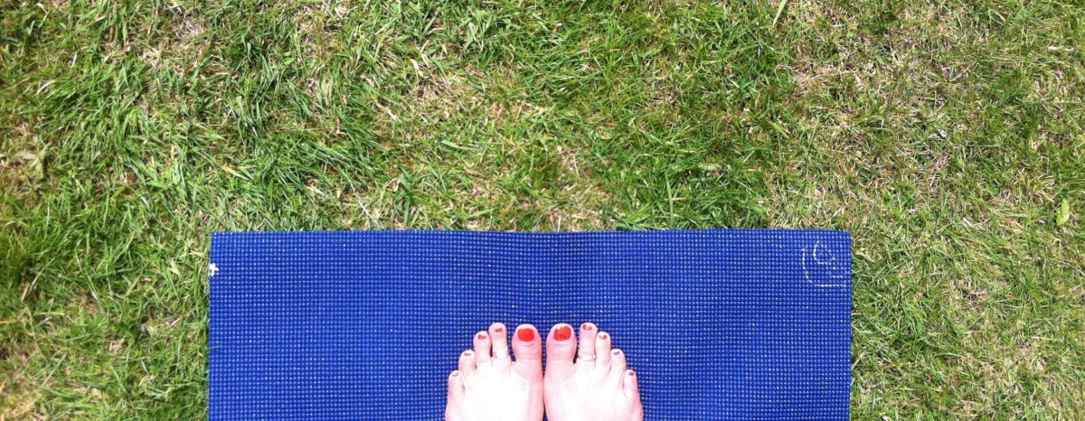Day 24: Outdoor yoga