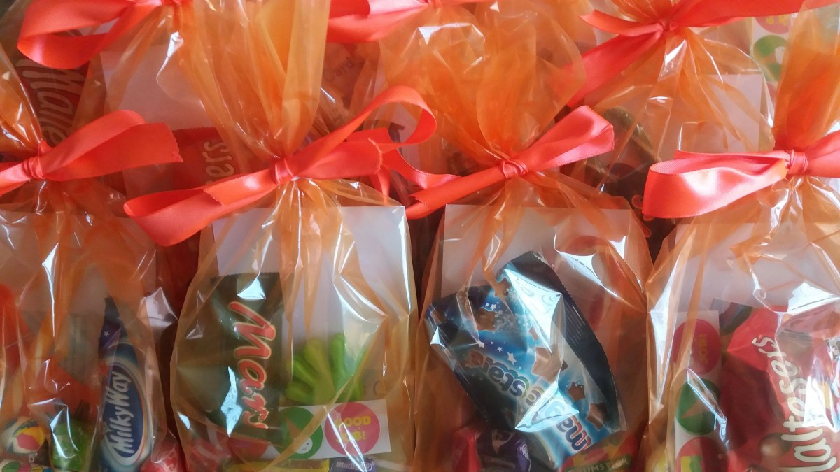 Act of kindness #23: World Kindness Day Goody Bags
