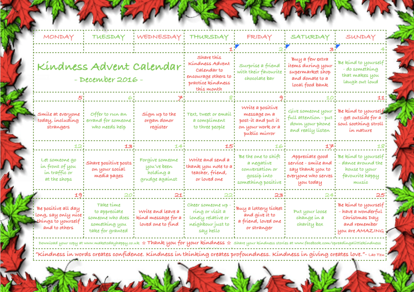 kindness-advent-calender