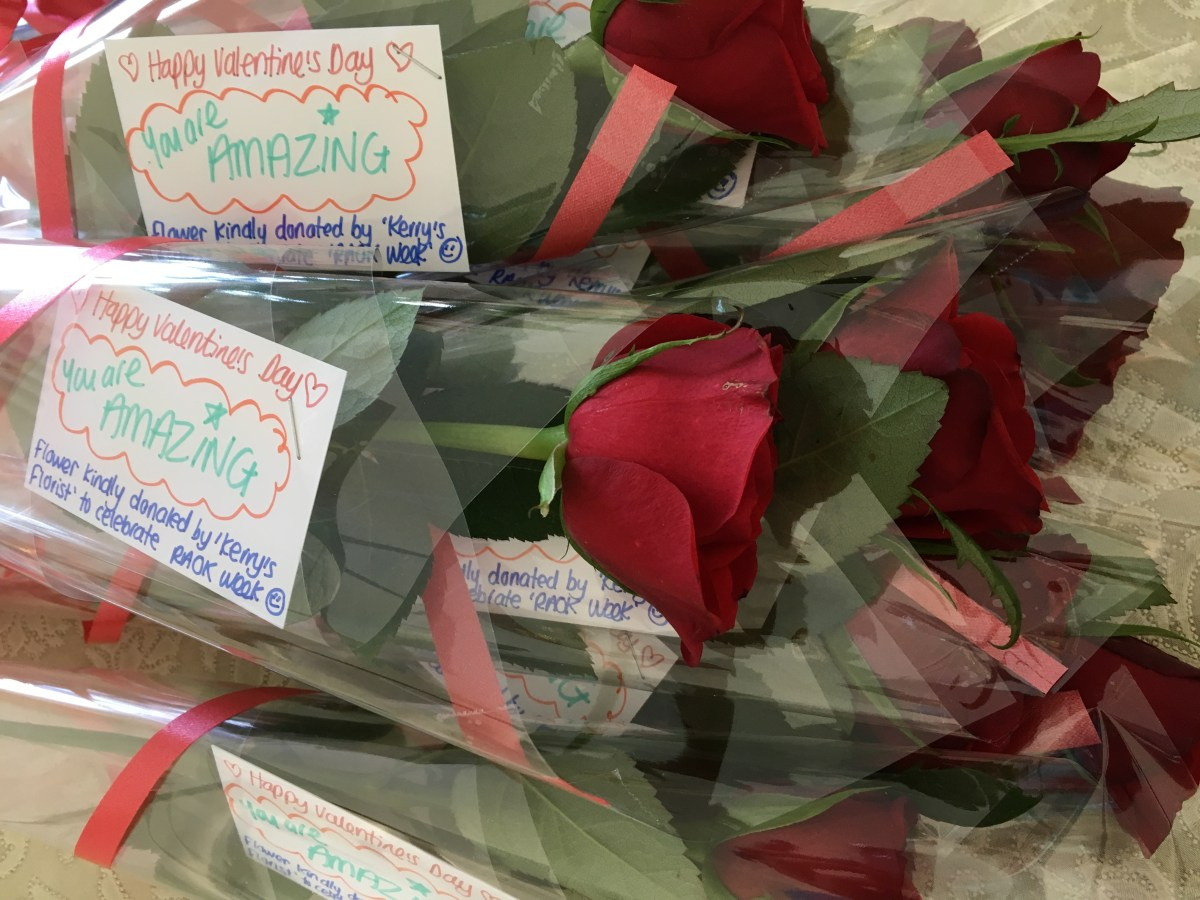 Act of kindness #28: A Valentine's rose