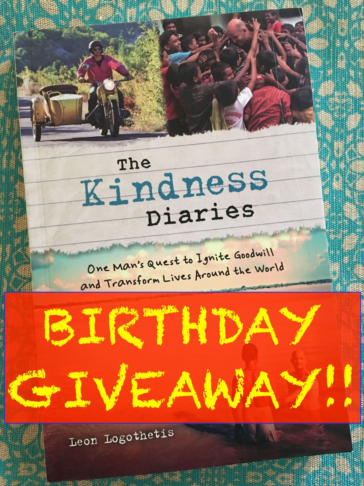 Birthday Giveaway Prize Draw