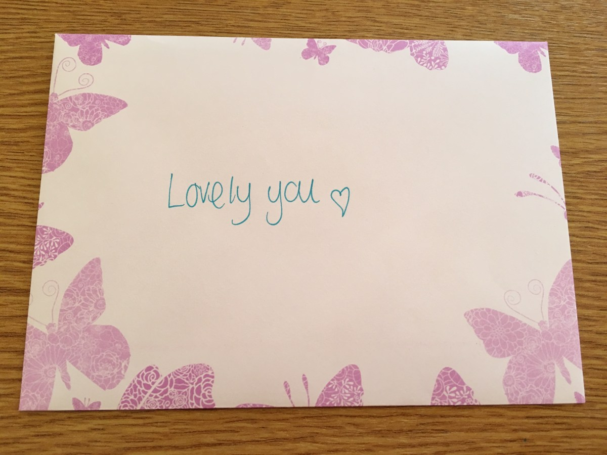Act of kindness #32: Lovely letters