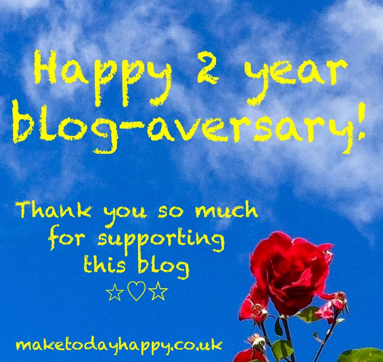 Happy 2nd Blog-aversary!