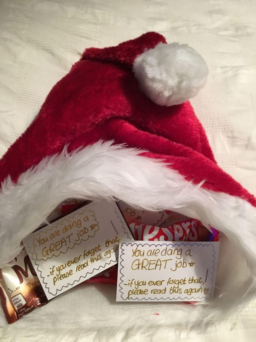 Santa Hat's Festive Treats.JPG