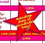 Random Acts of Kindness Day: Wednesday 17th February 2021