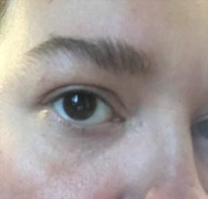 do eyebrows at home